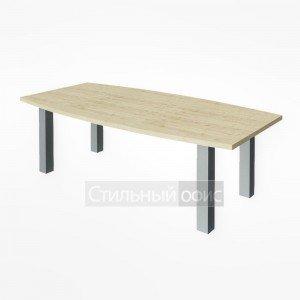 Стол переговорный на металлических опорах KPRG-1 + LT-710 Riva