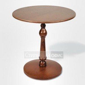 Стол журнальный офисный деревянный круглый
