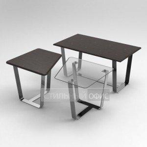 Журнальный столик комбинированный в офис