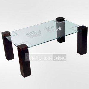 Столик журнальный прямоугольный с иероглифом
