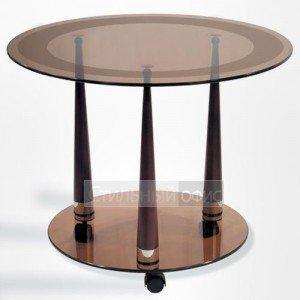 Журнальный столик в офис на колесиках