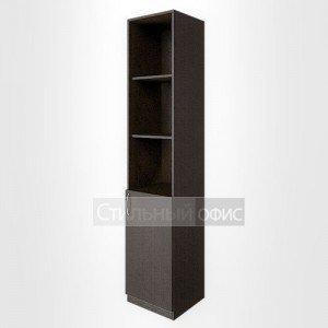 Шкаф офисный полузакрытый правый узкий высокий для персонала В.СУ – 1.1пр