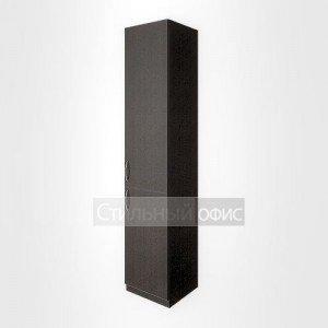 Шкаф офисный закрытый правый высокий узкий для персонала В.СУ – 1.3пр