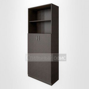 Шкаф полузакрытый с двумя открытыми нишами для персонала В.СТ – 1.6