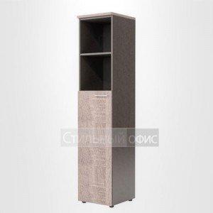 Шкаф колонка офисная левая для сотрудников