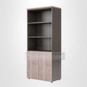 Шкаф высокий офисный полузакрытый для сотрудников