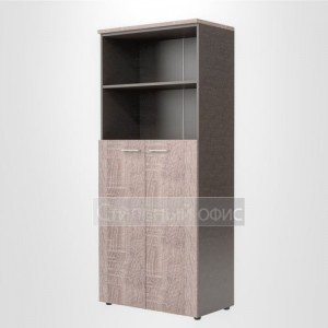 Шкаф высокий полузакрытый офисный для сотрудников